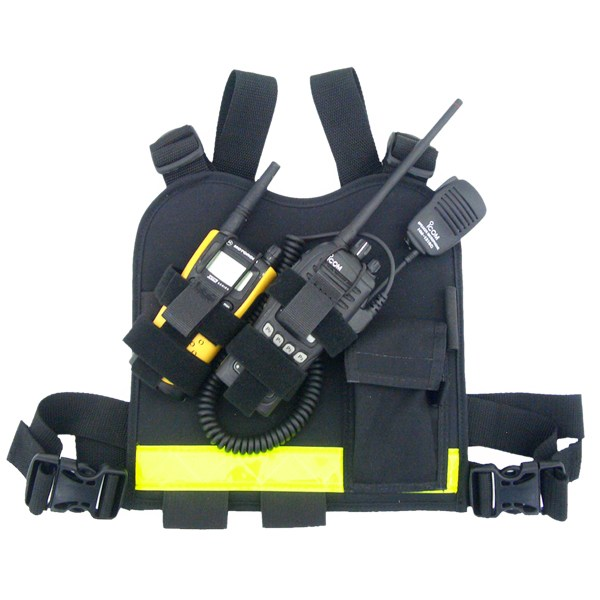 DUAL - TWIN RADIO CHEST HARNESS