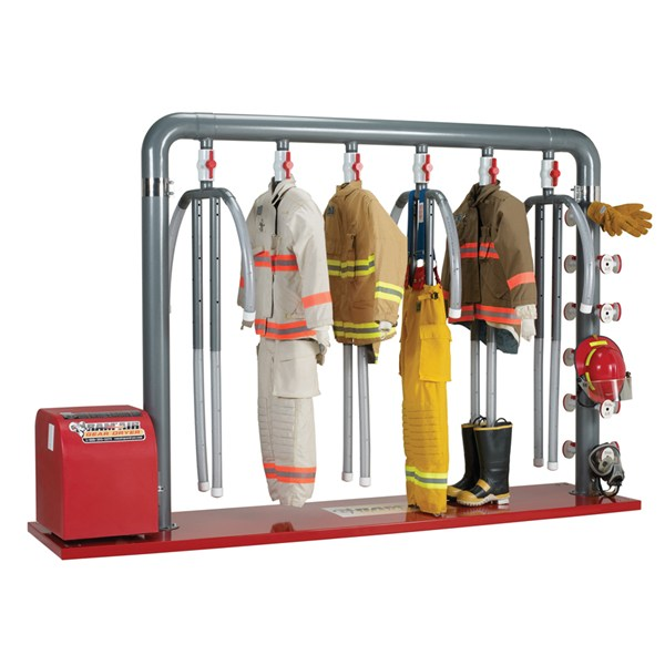 6-MU – 6 Place Dryer for Turnout Gear