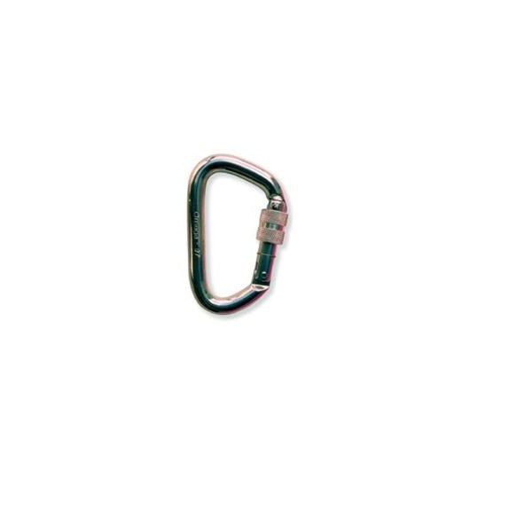 OMEGA PACIFIC, NFPA Locking Alum Modified D Carabiner Bri