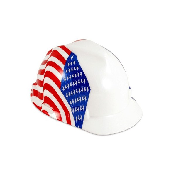 Freedom Series V-Gard Protective Cap - Dual American Flag