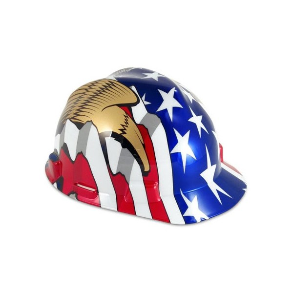 American-Flag-and-Two-Eagles-Hard-Cap