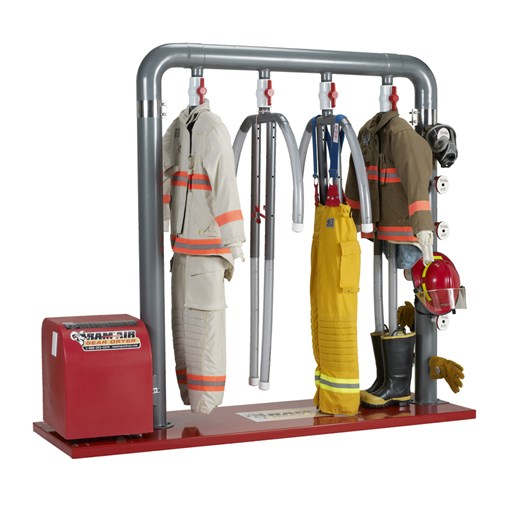 4-MU – 4 Place Dryer for Turnout Gear