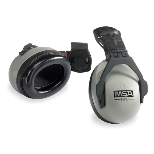 SoundControl HPE Gray/Black Cap-Mounted Ear Muff