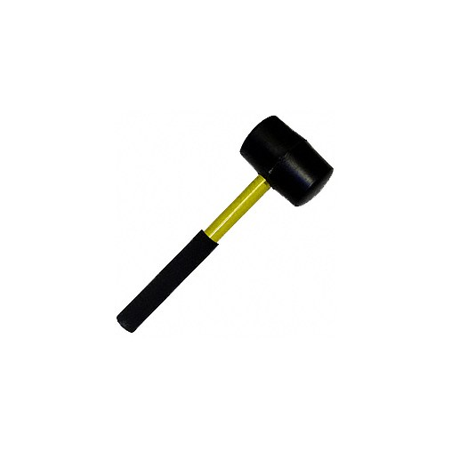 Connection Mallet, 2 lb, w/Fiberglass Handle