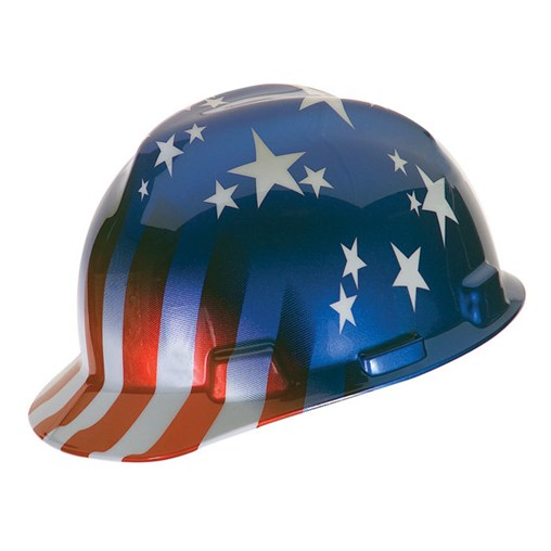 Freedom Series V-Gard Protective Cap - American Stars and Stripes