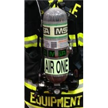 Illuminating SCBA Identifier Tags