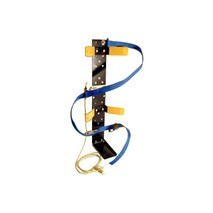 SCBA Bracket Assembled with NFPA Compliant Strap&#59; One Size Fits All