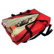 High Rise Hose Pack- Red Cordura